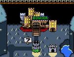 Castello Bowser SMWorld