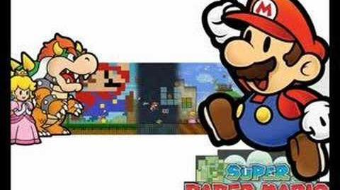 Super Paper Mario Music-King Croacus Battle
