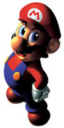 Mario Artwork1 - Super Mario 64