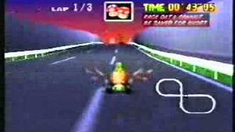 Mario Kart 64 - Toad's Turnpike Shortcuts