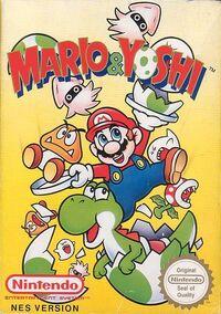 Mario & Yoshi (NES) - Boxart EUR