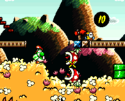 Screenshot1 - Super Mario World 2 Yoshi's Island