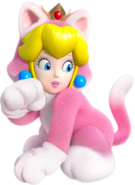 Peach Gatto - Super Mario 3D World
