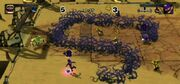 Wall-Luigi Screenshot - Mario Strikers Charged Football