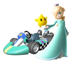 Artwork Rosalinda Mario Kart Wii