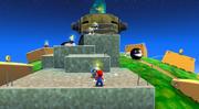 Galassia Uovo (Pianeta Disco dei Categnoni) Screenshot - Super Mario Galaxy