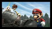 Mario, Pit, Trofeo di Link (Emissario del Subspazio) Screenshot - Super Smash Bros Brawl