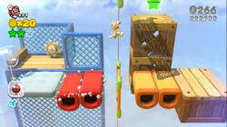 SM3DW 3-1 Mario