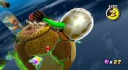 Dino Piranha (uovo) Screenshot - Super Mario Galaxy