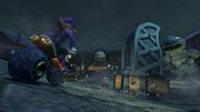 Waluigi Cittadella Tremarella Screenshot - Mario Kart 8