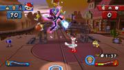 Waluigi Special Screenshot - Mario Sports Mix