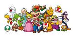 Gruppo di personaggi