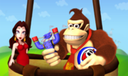 Pauline Donkey Kong Screenshot - Mario and Donkey Kong Minis on the Move