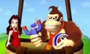 Pauline Donkey Kong Screenshot - Mario and Donkey Kong Minis on the Move