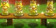 Personaggi Gatto della Fortuna Oro