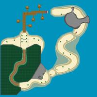 Spiaggia Smack - Mappa MKDS