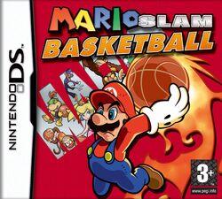 Mario Slam Basketball - Boxart EUR