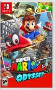 Super Mario Odyssey - Boxart NA (provvisorio)