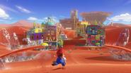 Deserto Screenshot - Super Mario Odyssey