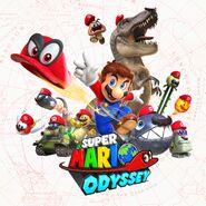 Key art - Super Mario Odyssey