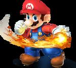 Mario Artwork - Super Smash Bros. per Nintendo 3DS e Wii U