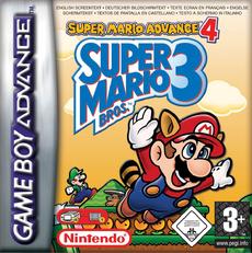 Super Mario Advance 4 - Boxart EUR