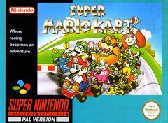Super Mario Kart - Boxart Eur