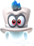 Cappy Artwork1 - Super Mario Odyssey