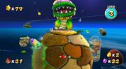 Dino Piranha Screenshot1 - Super Mario Galaxy