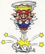 Salto piroetta Artwork - Super Mario World