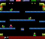 Screenshot - Mario Bros. (arcade)