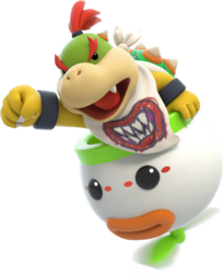Bowser Jr - Mario Rabbids Kingdom Battle