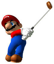 Mario Artwork - Mario Golf Toadstool Tour