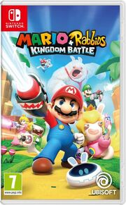 Mario Rabbids Kingdom Battle - Boxart EUR