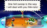 Sogghigno Tartaplano Screenshot - Mario & Luigi Superstar Saga Scagnozzi di Bowser