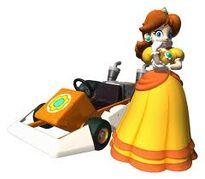 Daisy in kart