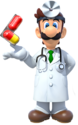 Dr. Luigi Artwork - Dr. Mario Miracle Cure
