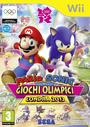 Mario & Sonic ai Giochi Olimpici di Londra 2012 Wii - Boxart Ita