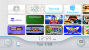 Menu Wii Screenshot - Wii
