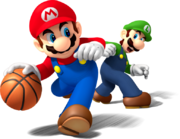 Mario Luigi Artwork - Mario Sports Mix