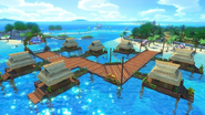 Spiaggia Smack Screenshot - MK8