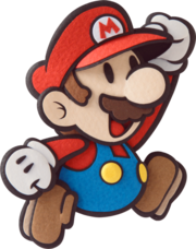 Mario Artwork - Paper Mario Sticker Star
