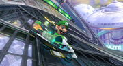 Luigi a Mute City