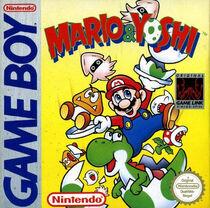 Mario & Yoshi (Game Boy) - Boxart EUR