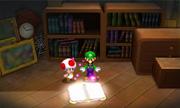 Luigi Screenshot - M&L Paper Jam Screenshot