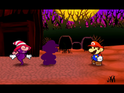 PMTTYD Doopliss vs Mario