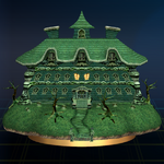 SSBB Trophy 187 Luigis Mansion