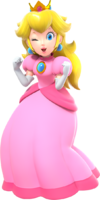 Peach Artwork - Super Mario Party