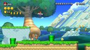 Salto piroetta Screenshot - New Super Mario Bros. U
