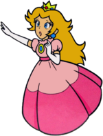 SMB Peach Artwork